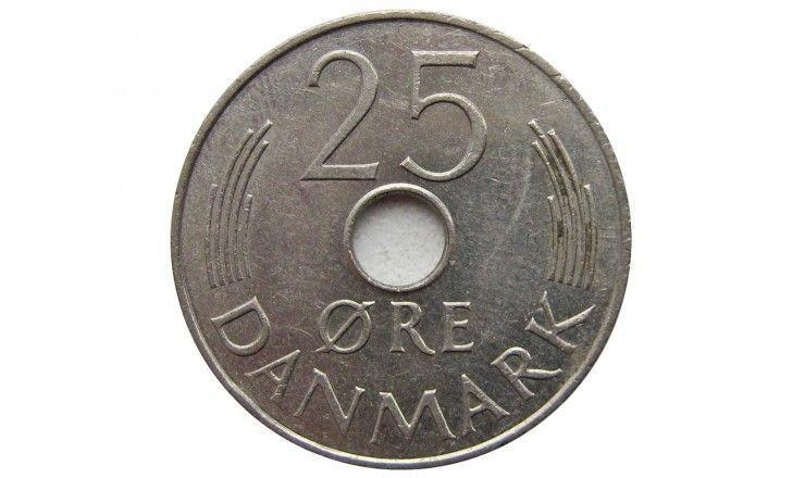 Дания 25 эре 1975 г.