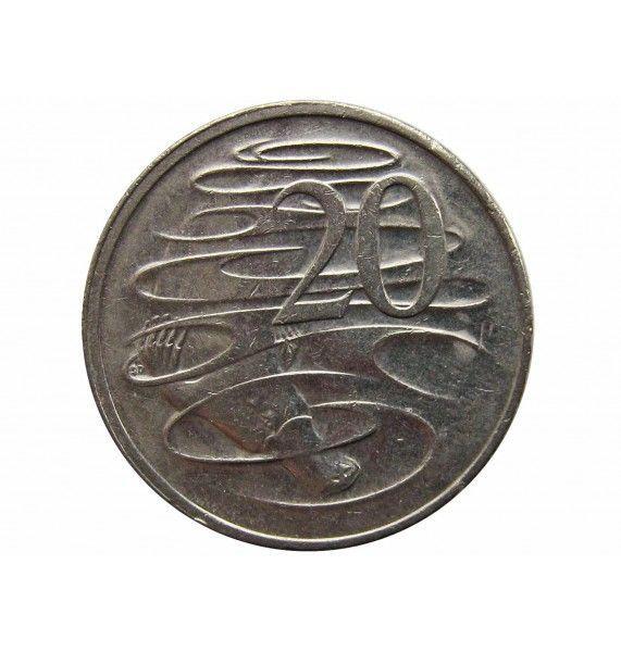 Австралия 20 центов 2001 г.