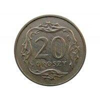 Польша 20 грошей 1992 г.