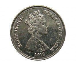 Гибралтар 5 пенсов 2013 г.