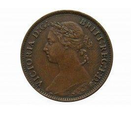 Великобритания 1 фартинг 1885 г.