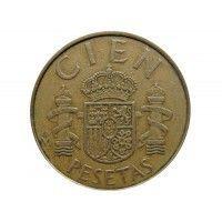 Испания 100 песет 1982 г.