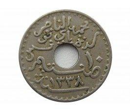 Тунис 10 сантимов 1920 г.