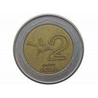 Перу 2 новых соля 2003 г.