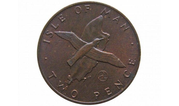 Остров Мэн 2 пенса 1979 г. AA