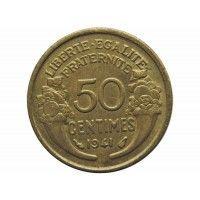 Франция 50 сантимов 1941 г.