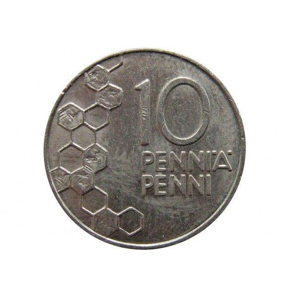 Финляндия 10 пенни 1991 г.