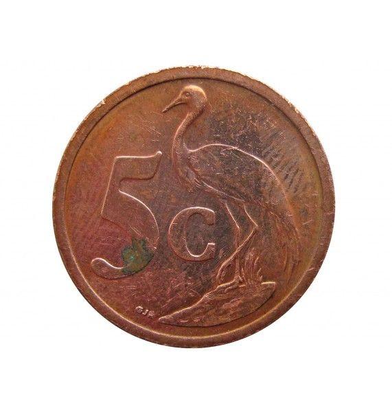 Южная Африка 5 центов 2006 г.
