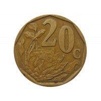 Южная Африка 20 центов 1997 г.