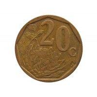 Южная Африка 20 центов 2003 г.