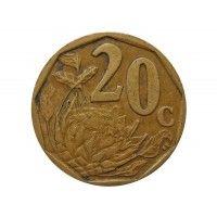 Южная Африка 20 центов 2004 г.