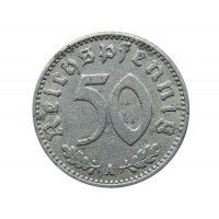 Германия 50 пфеннигов 1942 г. A
