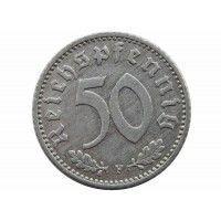 Германия 50 пфеннигов 1942 г. F