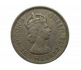 Малайя и Британское Борнео 5 центов 1953 г.