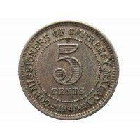 Малайя 5 центов 1945 г.