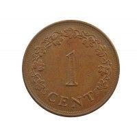 Мальта 1 цент 1982 г.