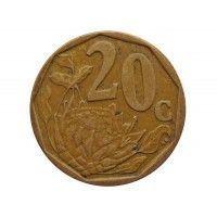 Южная Африка 20 центов 2007 г.