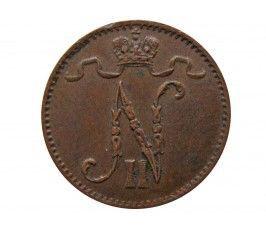 Финляндия 1 пенни 1911 г.