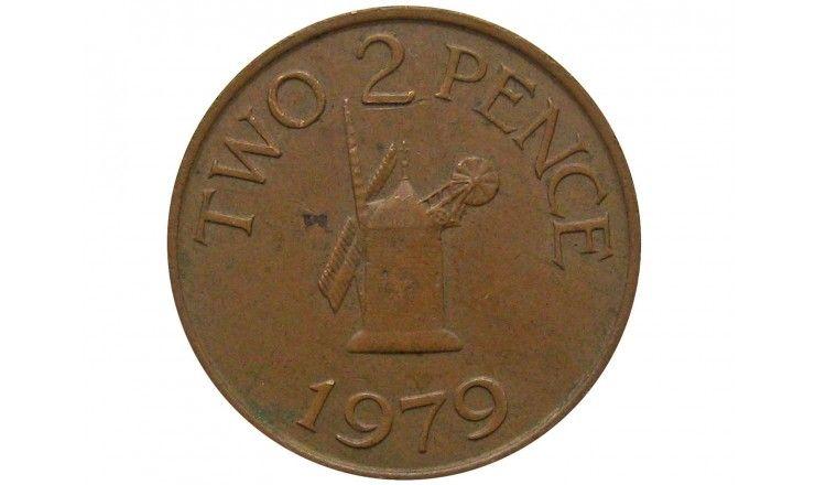Гернси 2 пенса 1979 г.