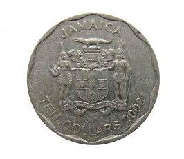 Ямайка 10 долларов 2008 г.
