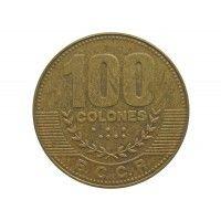 Коста-Рика 100 колон 2014 г.