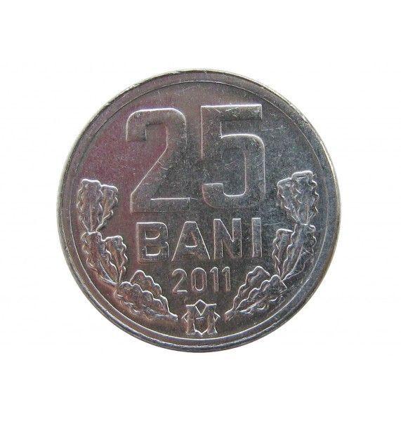 Молдавия 25 бани 2011 г.