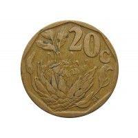 Южная Африка 20 центов 1994 г.