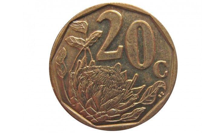 Южная Африка 20 центов 2009 г.