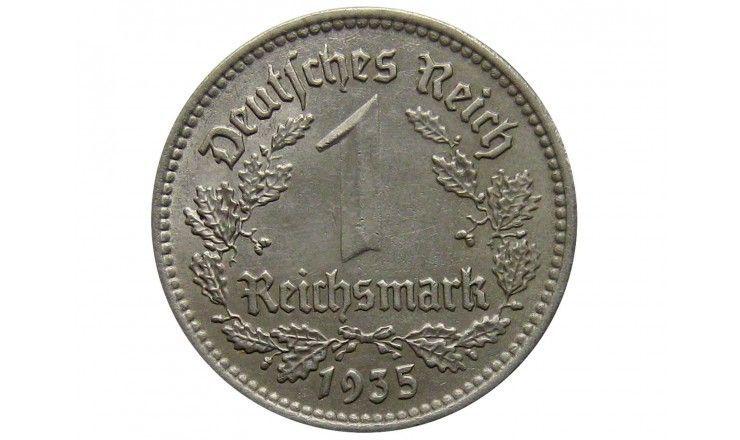 Германия 1 марка 1935 г. A