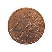 Словакия 2 евро цента 2016 г.