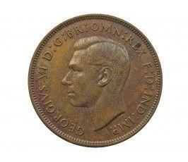 Великобритания 1 пенни 1937 г.