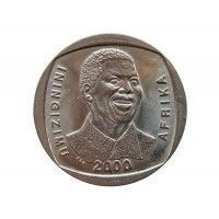 "Южная Африка 5 ранд 2000 г. (""Улыбающийся Мандела"")"