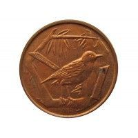 Каймановы острова 1 цент 2005 г.