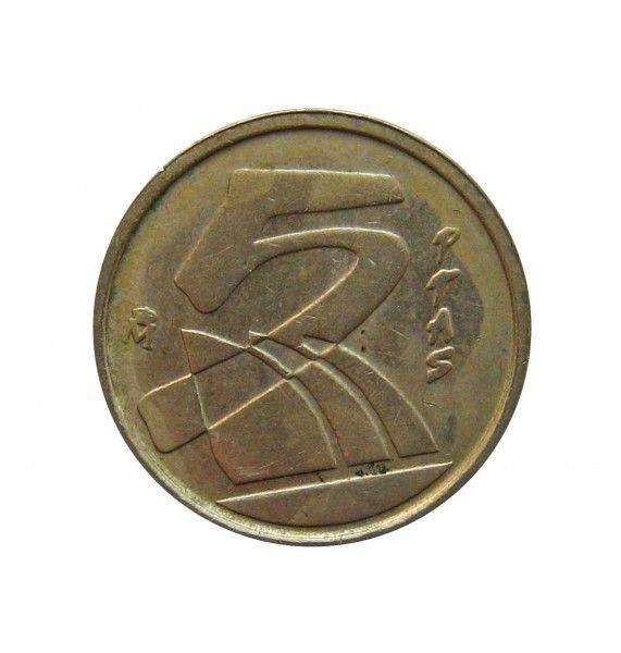 Испания 5 песет 1991 г.