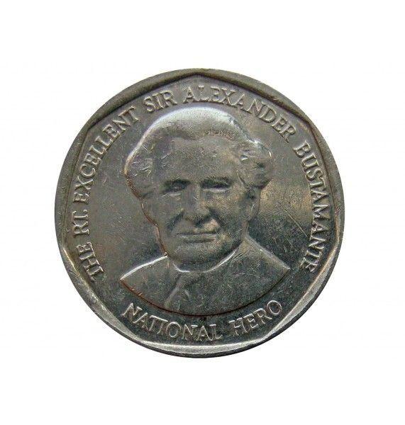 Ямайка 1 доллар 2012 г.