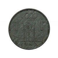 Бельгия 1 франк 1943 г. (Belgique-Belgie)