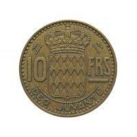 Монако 10 франков 1951 г.
