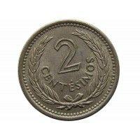 Уругвай 2 сентесимо 1953 г.