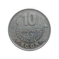 Коста-Рика 10 колон 2012 г.