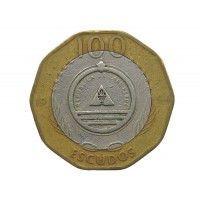 Кабо-Верде 100 эскудо 1994 г. (Цветок -  Saiao)