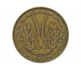 Французская Западная Африка (Того) 25 франков 1957 г.