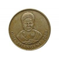 Свазиленд 1 лилангени 2009 г.