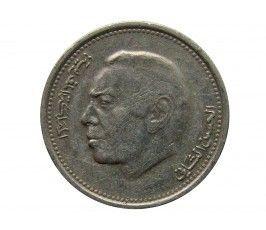 Марокко 1/2 дирхама 1987 г.