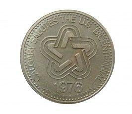 Канада 1 доллар (торговый) 1976 г.