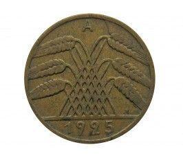 Германия 10 пфеннигов (reichs) 1925 г. A