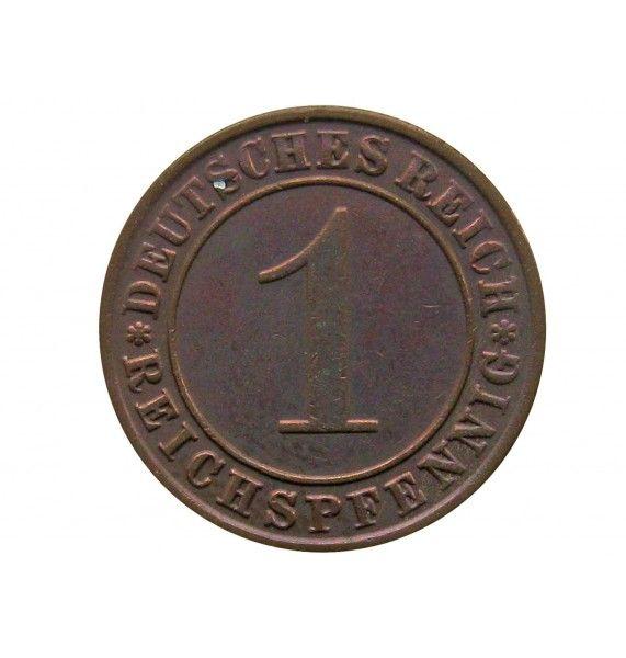 Германия 1 пфенниг (reichs) 1936 г. А