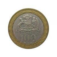 Чили 100 песо 2008 г.
