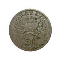 Португалия 50 сентаво 1929 г.