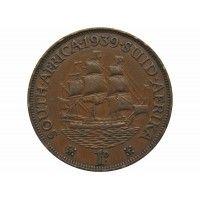 Южная Африка 1 пенни 1939 г.