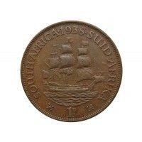 Южная Африка 1 пенни 1938 г.